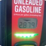 Wordless Wednesday – Gas Price That Makes Me Happy