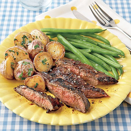 Balsamic Marinated Flank Steak - Optimistic Mommy