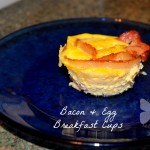 Bacon and Egg Breakfast Cup WM