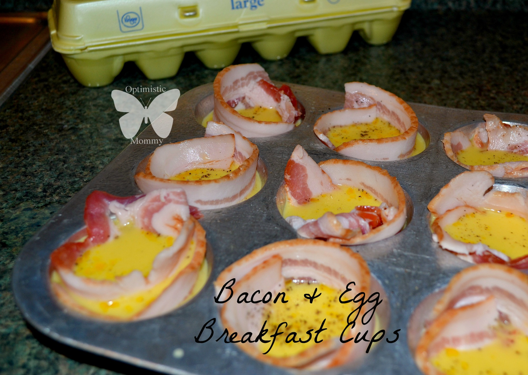 Bacon And Egg Breakfast Cups Recipe