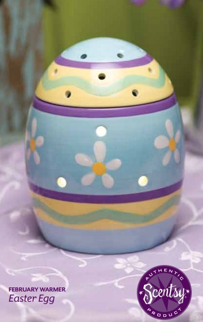 Scentsy February Warmer Of The Month Easter Egg
