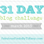 Day 3 of March 2013 Blog Challenge