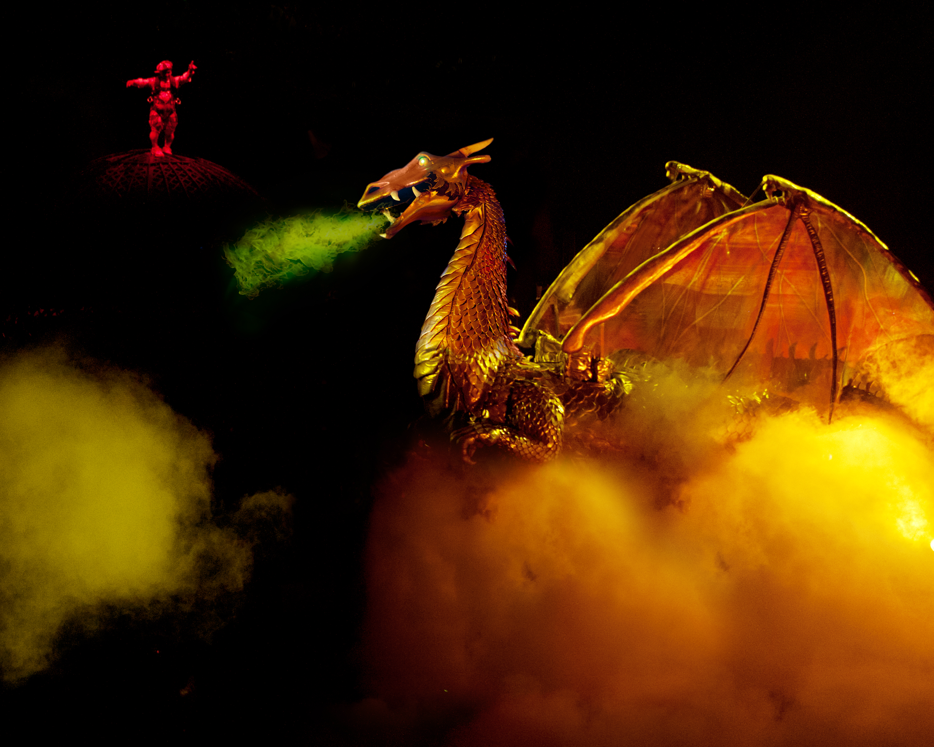 Ringling Bros Dragon