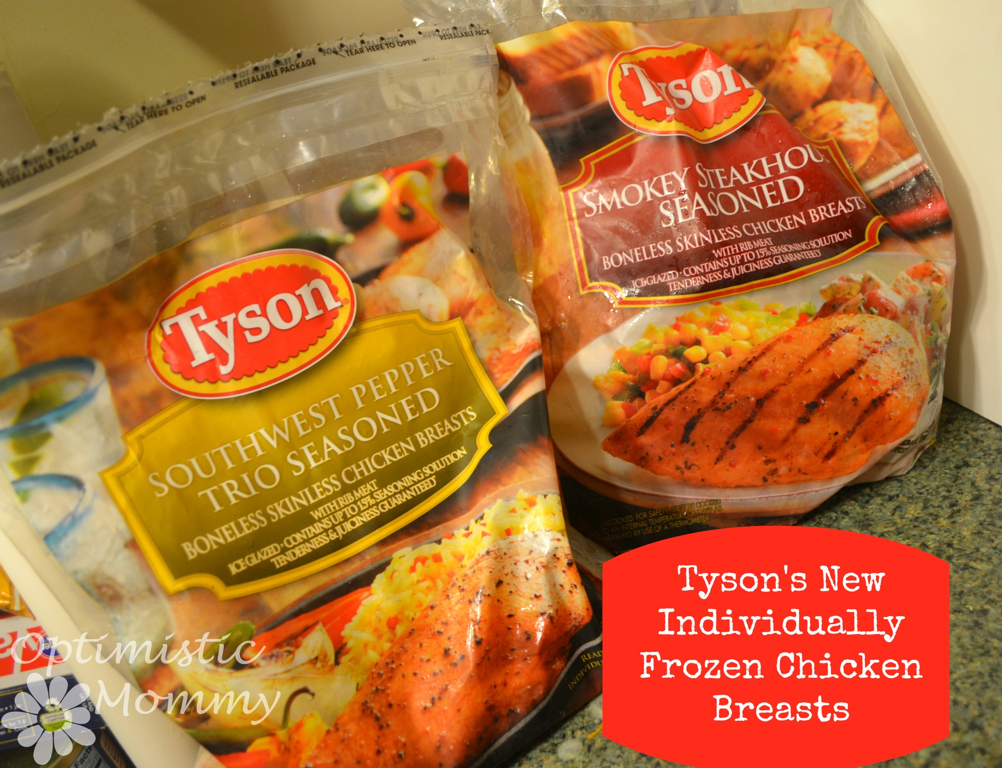 Tyson Individually Frozen Chicken in NEW Flavors - Smokey Steakhouse Seasoned & Southwest Pepper Trio Seasoned