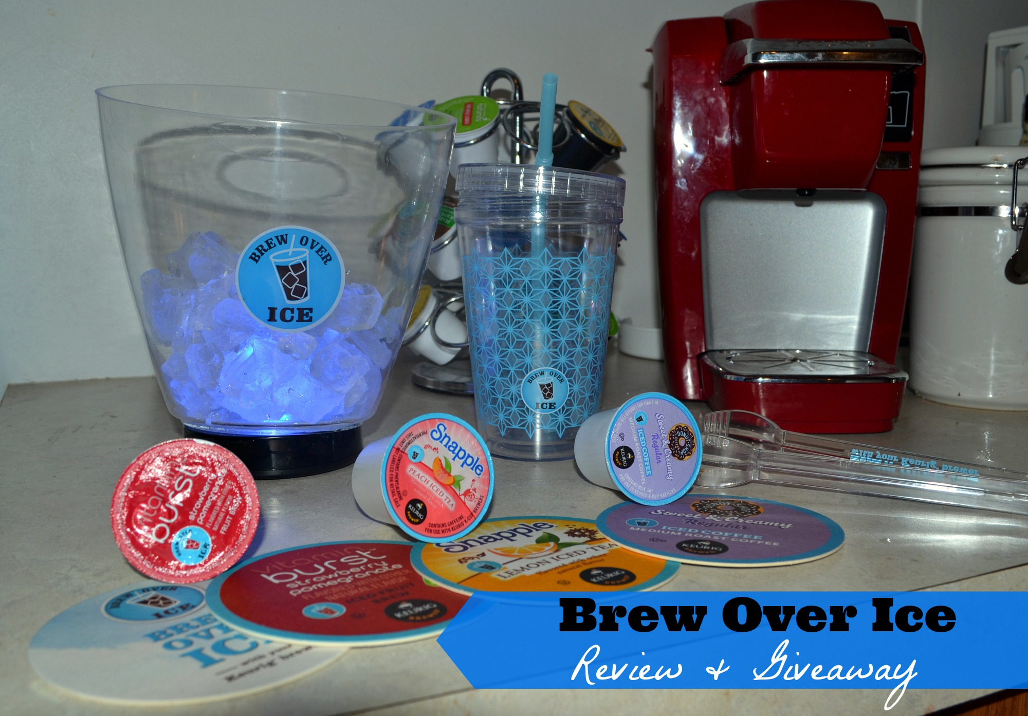 Brew Over Ice Review & Giveaway (Ends 9/4/13) | Optimistic Mommy