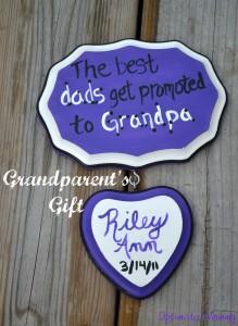 Easy Grandparent's Day Gift | Optimistic Mommy