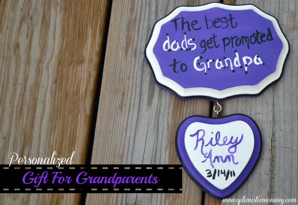 Personalized Gift for Grandparents | Optimistic Mommy