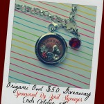 Origami Owl Necklace in Honor of My Mom (Plus a Giveaway!)