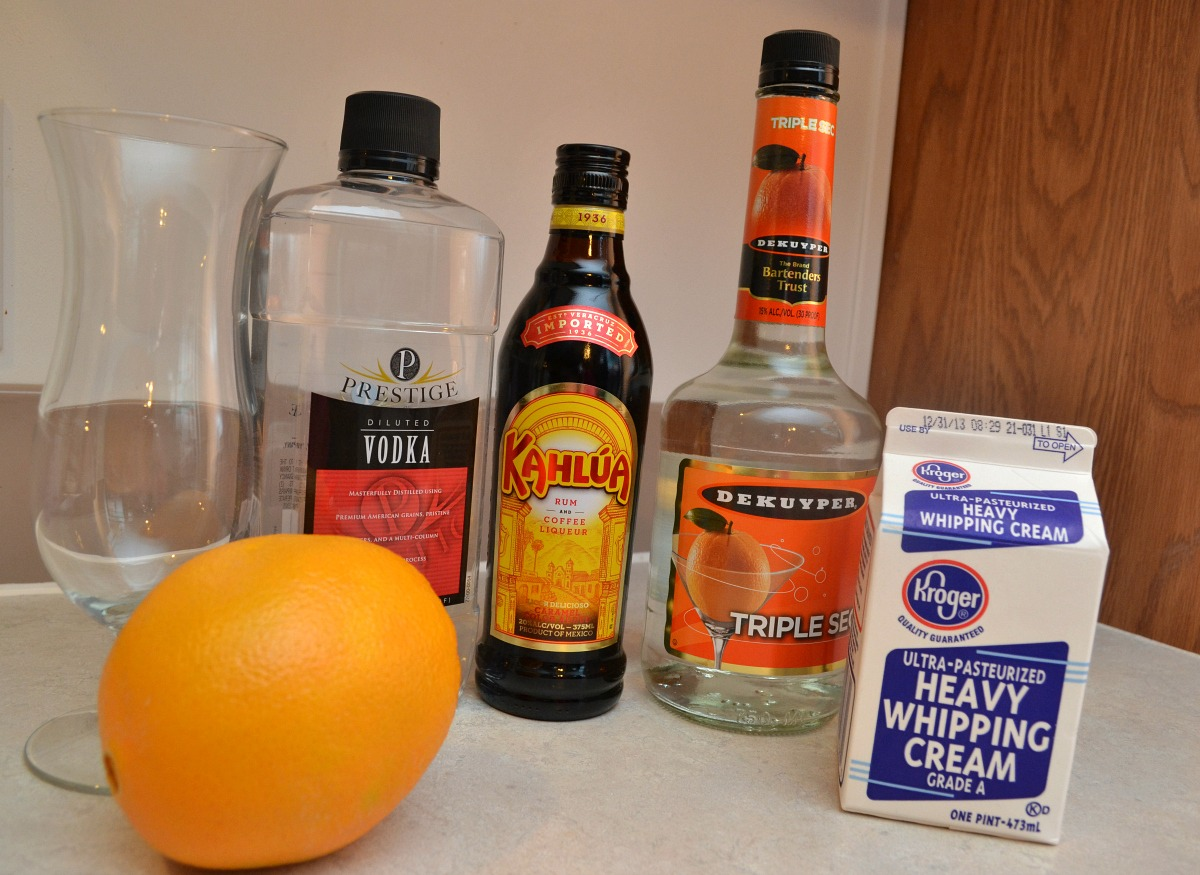 Red's Orange White Russian Cocktail Inspired by Orange is the New Black | Optimistic Mommy