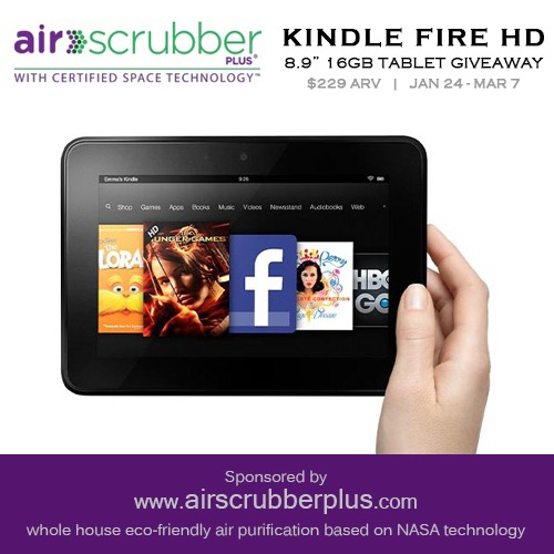 Kindle Fire HD Giveaway | Optimistic Mommy