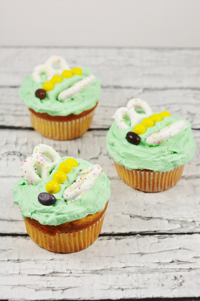 Spring Butterfly Cupcakes | Optimistic Mommy