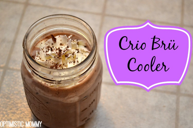 Crio Brü Brewed Cocoa Review & Crio Brü Cooler Recipe! | Optimistic Mommy
