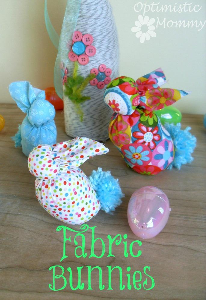 Fabric Bunnies Tutorial   Optimistic Mommy