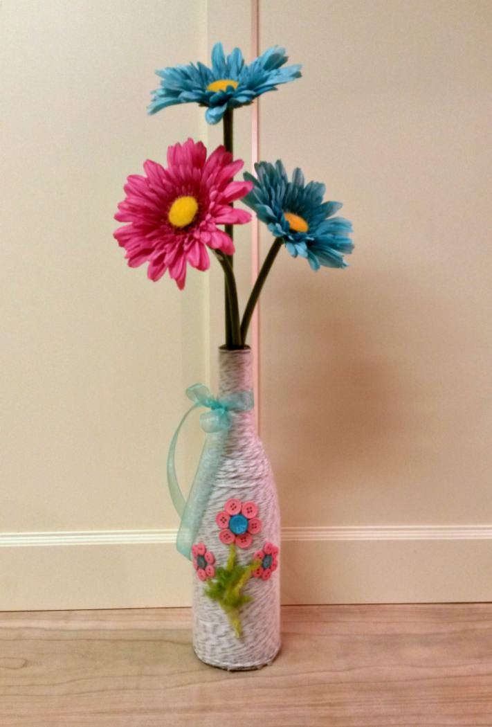 Spring Vase Tutorial | Optimistic Mommy