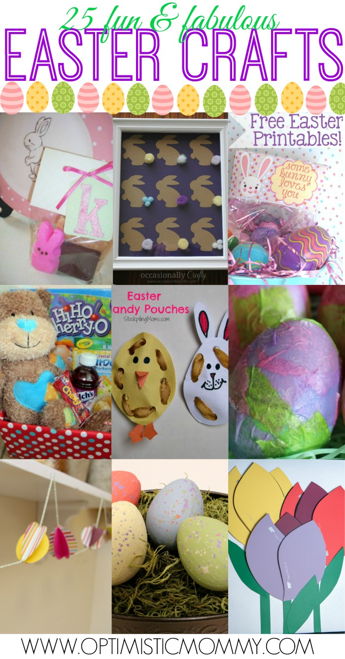 25 Fun and Fabulous Easter Crafts! | Optimistic Mommy