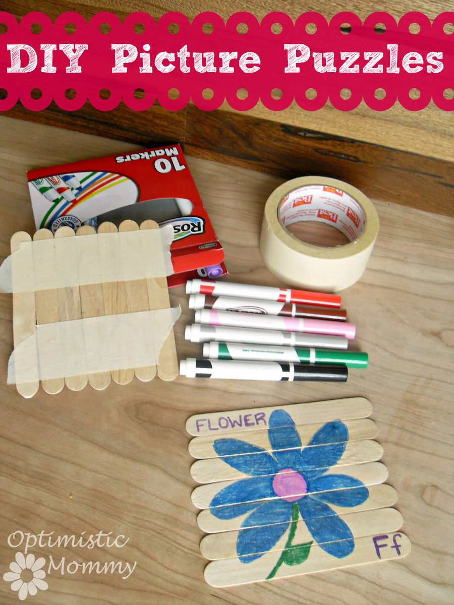 DIY Wooden Picture Puzzles