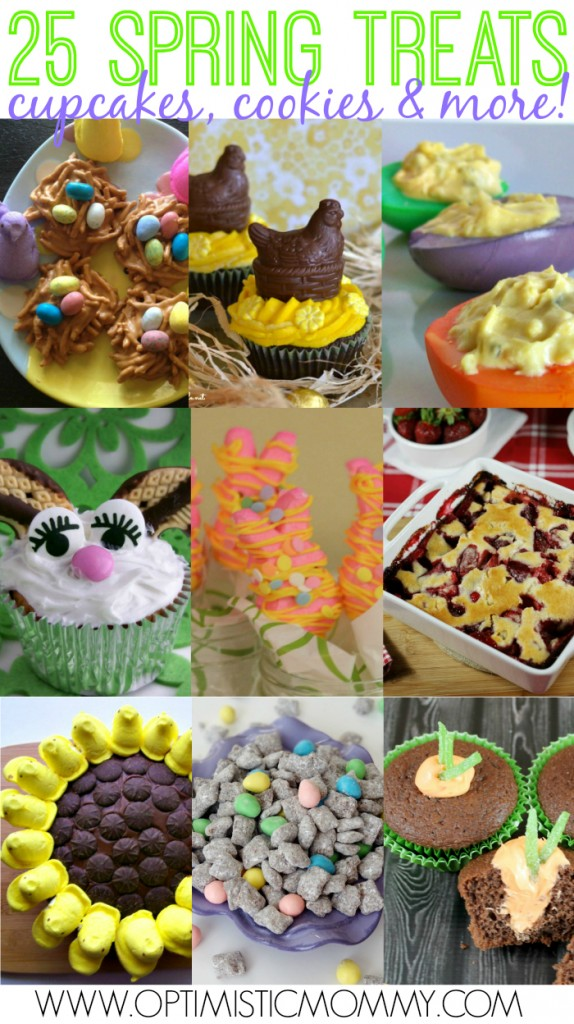 25 Spring Treats - Cookies, Cupcakes and More!   Optimistic Mommy