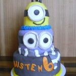 Despicable Me Party Cake Tutorial