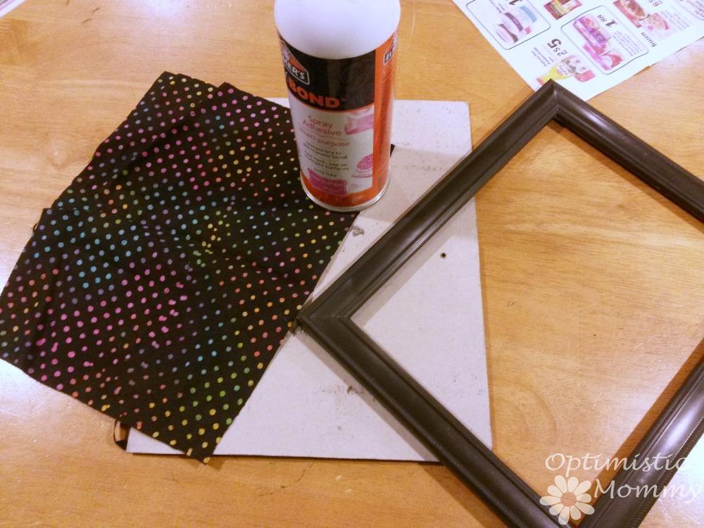 Kitchen Decor - Easy Dry Erase Menu   Optimistic Mommy