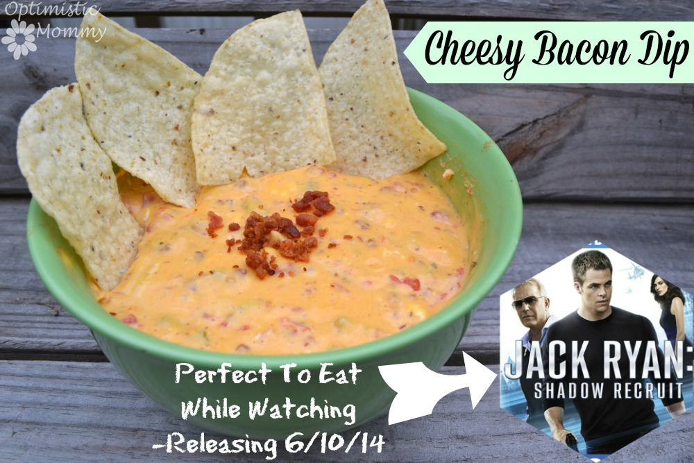 Jack Ryan DVD Release & Cheesy Bacon Dip Recipe! #JackRyanBluRay | Optimistic Mommy