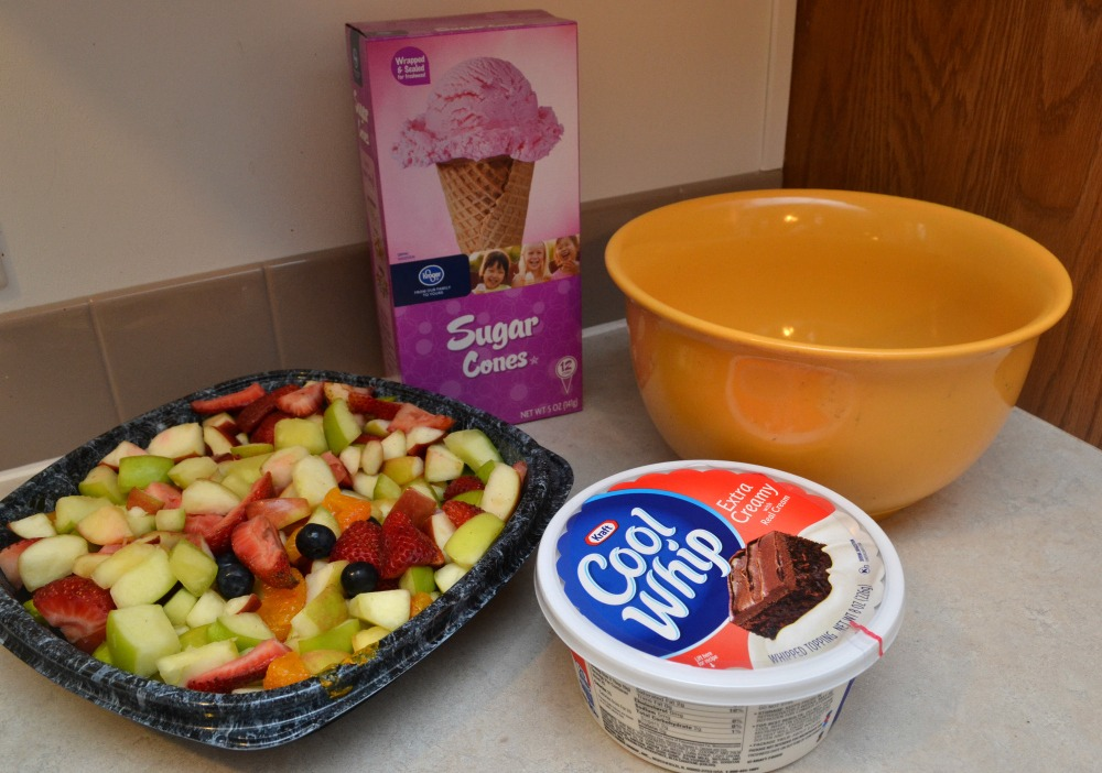 Chick Fil A Breakfast Tray Interesting Fruit Salad Cones Featuring ChickfilA Fruit Tray Optimistic Mommy