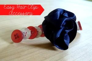Easy Hair Clip Accessory | Optimistic Mommy
