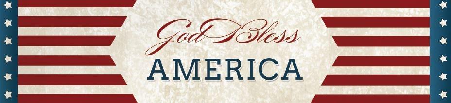 God Bless America Water Bottle Label Patriotic Printables   Optimistic Mommy