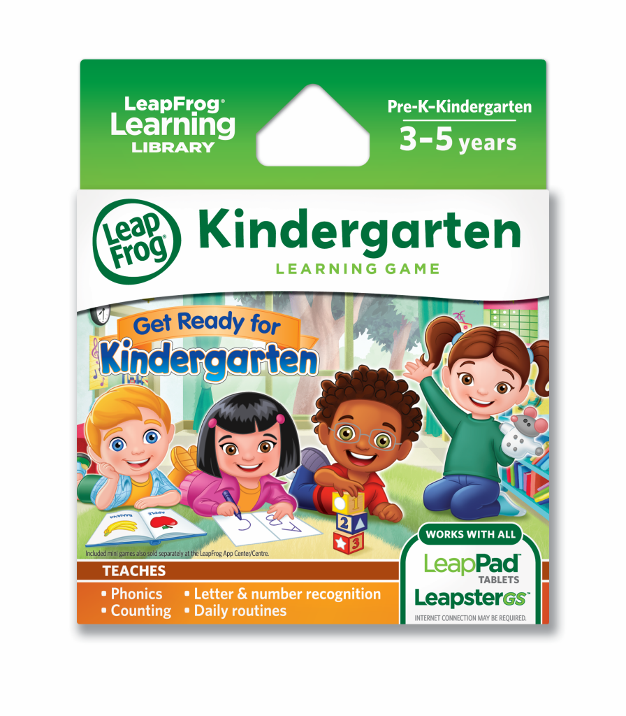 LeapFrog Get Ready for Kindergarten game
