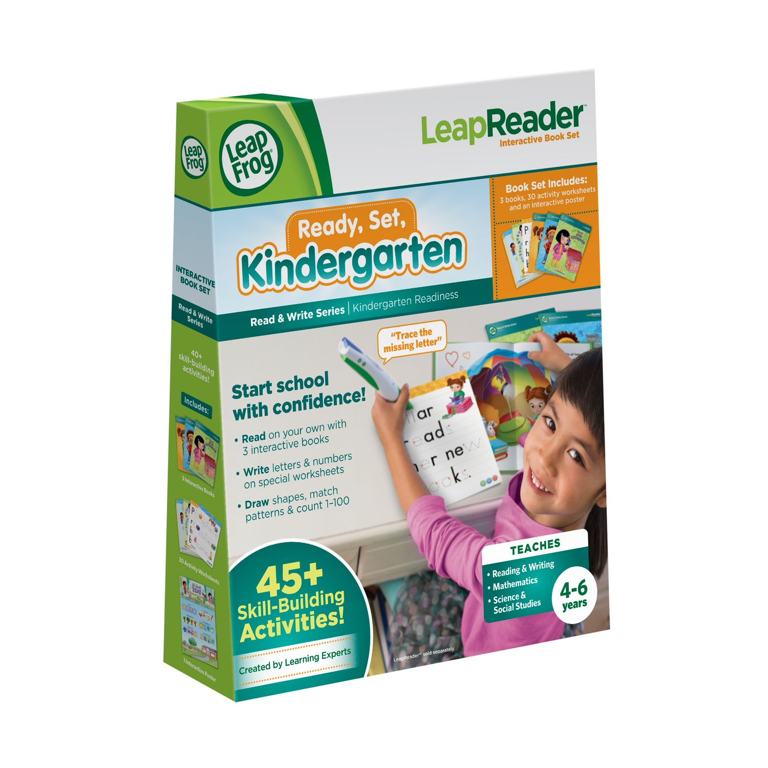 leapreader read and write activity set