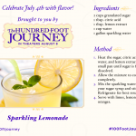 Sparkling Lemonade Recipe - Inspired by The Hundred-Foot Journey #100FootJourney #FoodieFriday | Optimistic Mommy