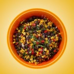 Texas Pete Spicy Roasted Corn and Black Bean Salad