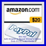 $20 Amazon or PayPal Gift Card Giveaway (Ends 7/31) | Optimistic Mommy