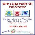 Difrax 3-Stage Pacifier Gift Pack Giveaway (Ends 7/22) | Optimistic Mommy