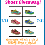 KidOFit Barefoot Shoes Giveaway (Ends 7/31) | Optimistic Mommy