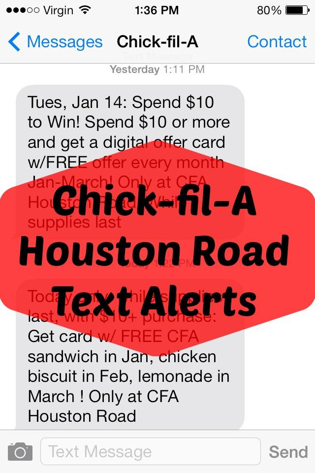 Chick-fil-A-Alerts