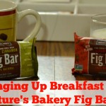 Change Your Breakfast Up With Nature's Bakery Fig Bars | Optimistic Mommy
