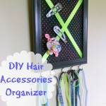 DIY Hair Accessories Organizer | Optimistic Mommy