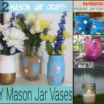 12 Mason Jar Crafts | Optimistic Mommy