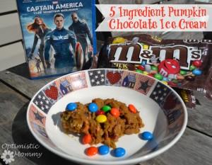 5 Ingredient Chocolate Pumpkin Ice Cream