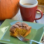 Maple Pumpkin Coffee Cake Recipe #CoffeeBuzz | Optimistic Mommy