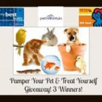 Pamper Your Pet Treat Yourself Giveaway