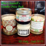 Seawick's Candles Prize Pack Giveaway (Ends 10/13)