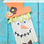 Fun Fall Craft: Craft Stick Scarecrow | Optimistic Mommy