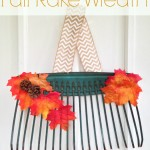 Fall Rake Wreath Tutorial | Optimistic Mommy