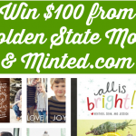 $100 Minted Giveaway (Ends 11/1) | Optimistic Mommy