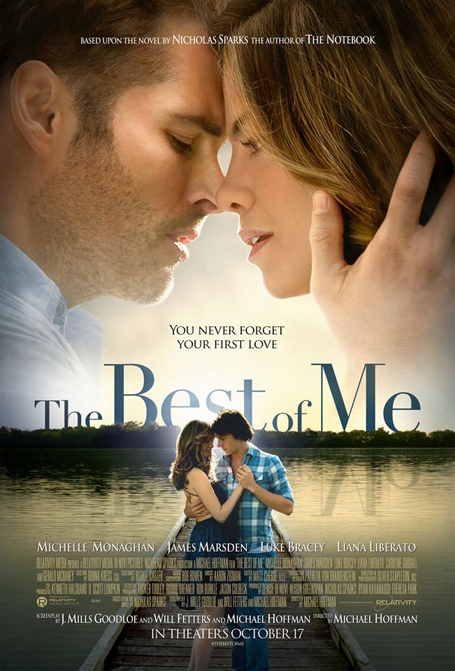 The Best of Me by Nicholas Sparks Movie Poster