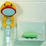 Rubber Duckie & Friends Bath & Shower Wands | Optimistic Mommy