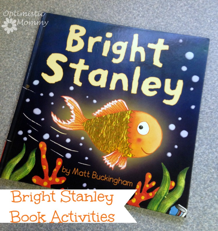 "Bright Stanley Book Activities | Optimistic Mommy - I have created 3 fun activities for kids that go along with the book Bright Stanley by Matt Buckingham.  Read the book with your children and then have fun making ""fish scale"" crayons, paint chip puppets, and a tote bag!"