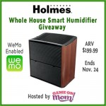 Holmes Whole House Smart Humidifier #Giveaway (Ends 11/24)
