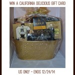 California Delicious Gift Card #Giveaway (Ends 12/24)